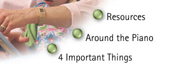 Childrens Chapel Resources Around the Piano and 4 Important Things