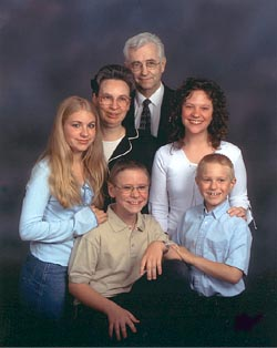 Click here to see a larger photo of the Haas Family
